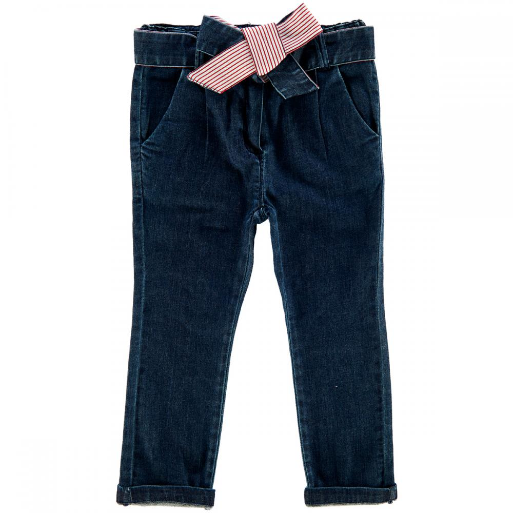 Pantalon lung copii Chicco, denim, fete, 24756