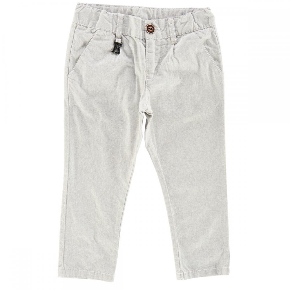 Pantalon lung copii Chicco, gri deschis