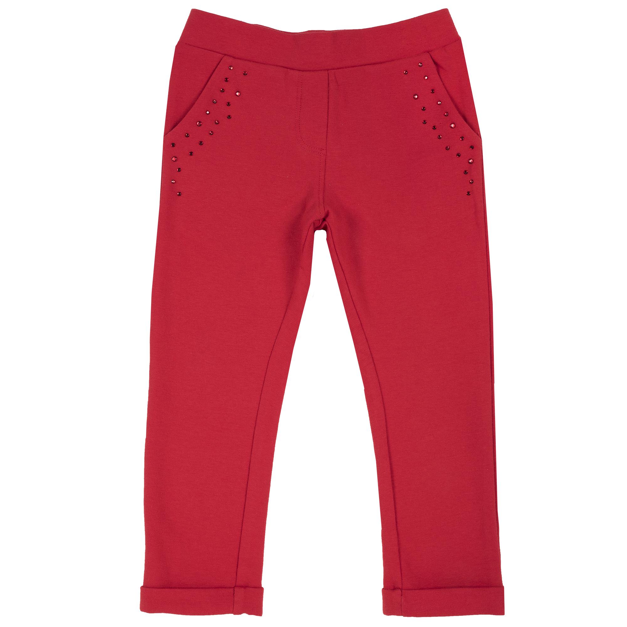 Pantalon lung copii Chicco, rosu, 24957 din categoria Pantaloni copii