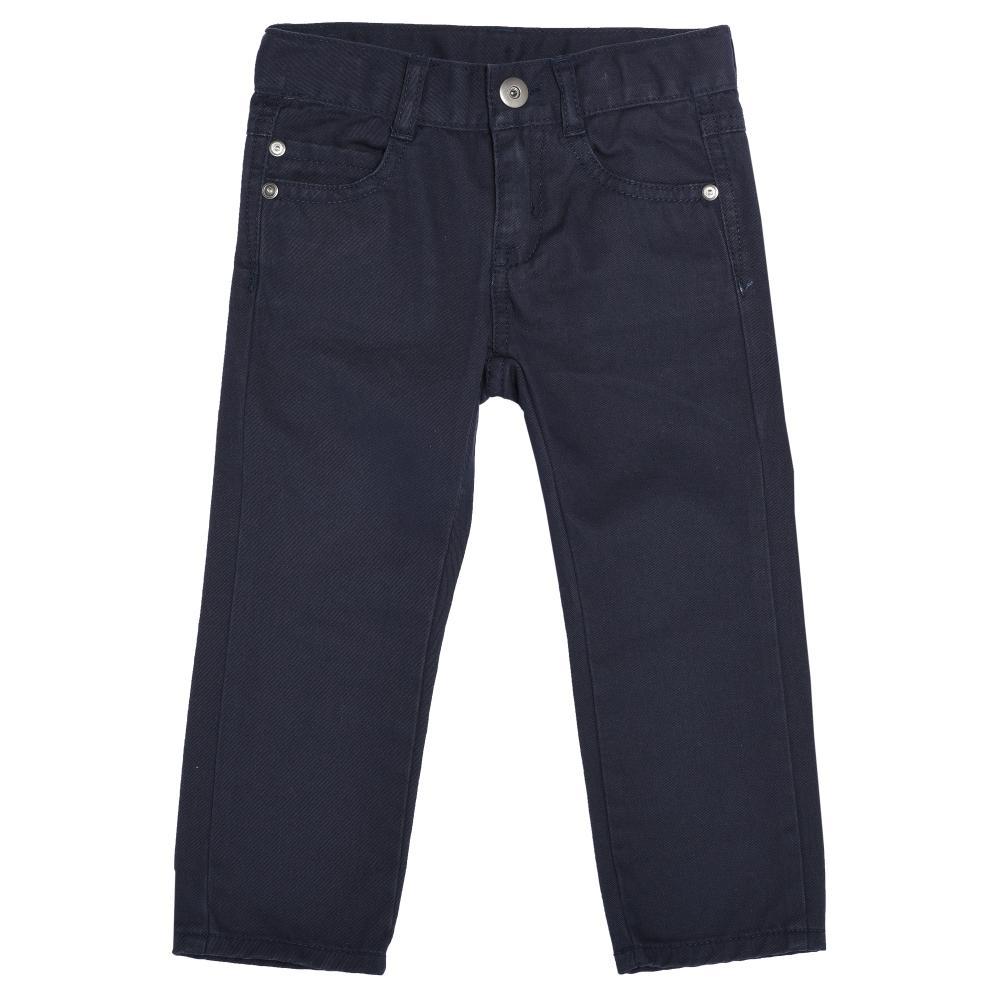 Pantalon lung pentru copii Chicco, baieti, bleumarin din categoria Pantaloni copii