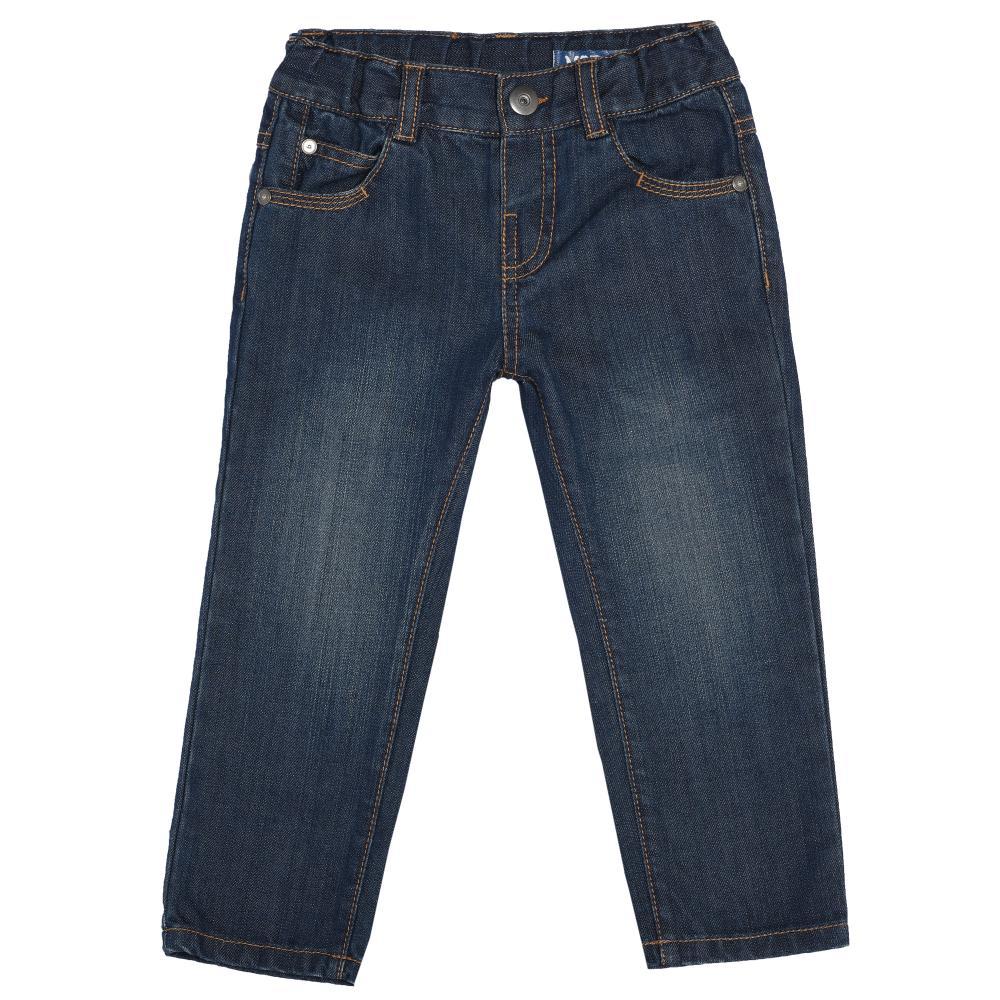 Pantalon pentru copii Chicco denim 92