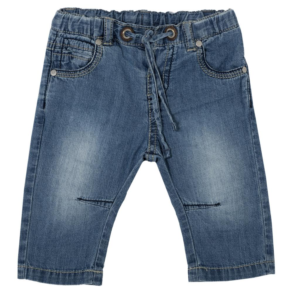 Pantalon lung copii Chicco, baieti, denim, 24435