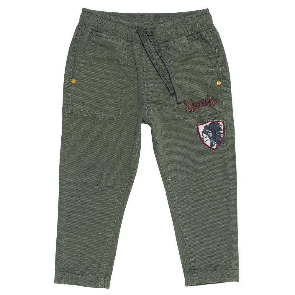Pantalon Copii Chicco, Baieti, Verde Kaki