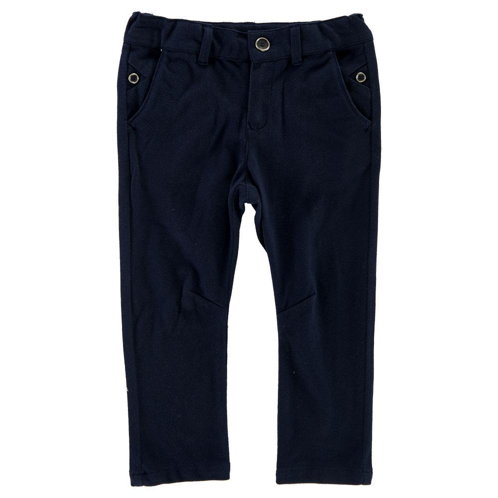 Pantalon lung copii Chicco, albastru inchis din categoria Pantaloni copii