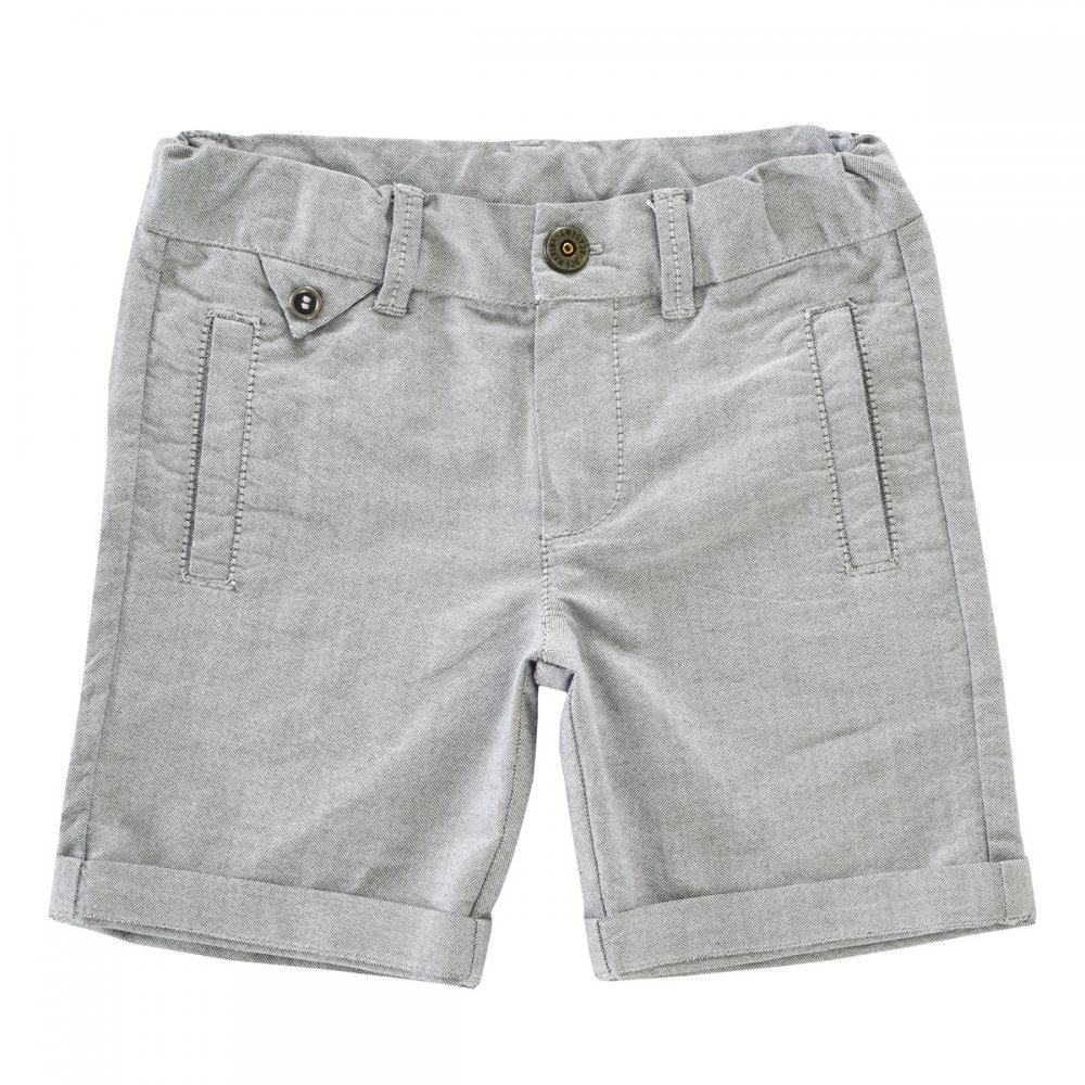 Pantalon scurt baieti, Chicco, gri din categoria Pantaloni copii
