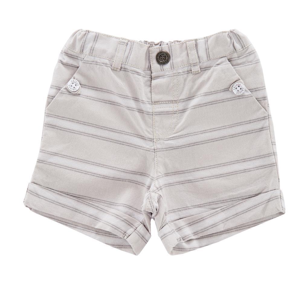 Pantalon scurt copii Chicco, baieti, gri din categoria Pantaloni copii