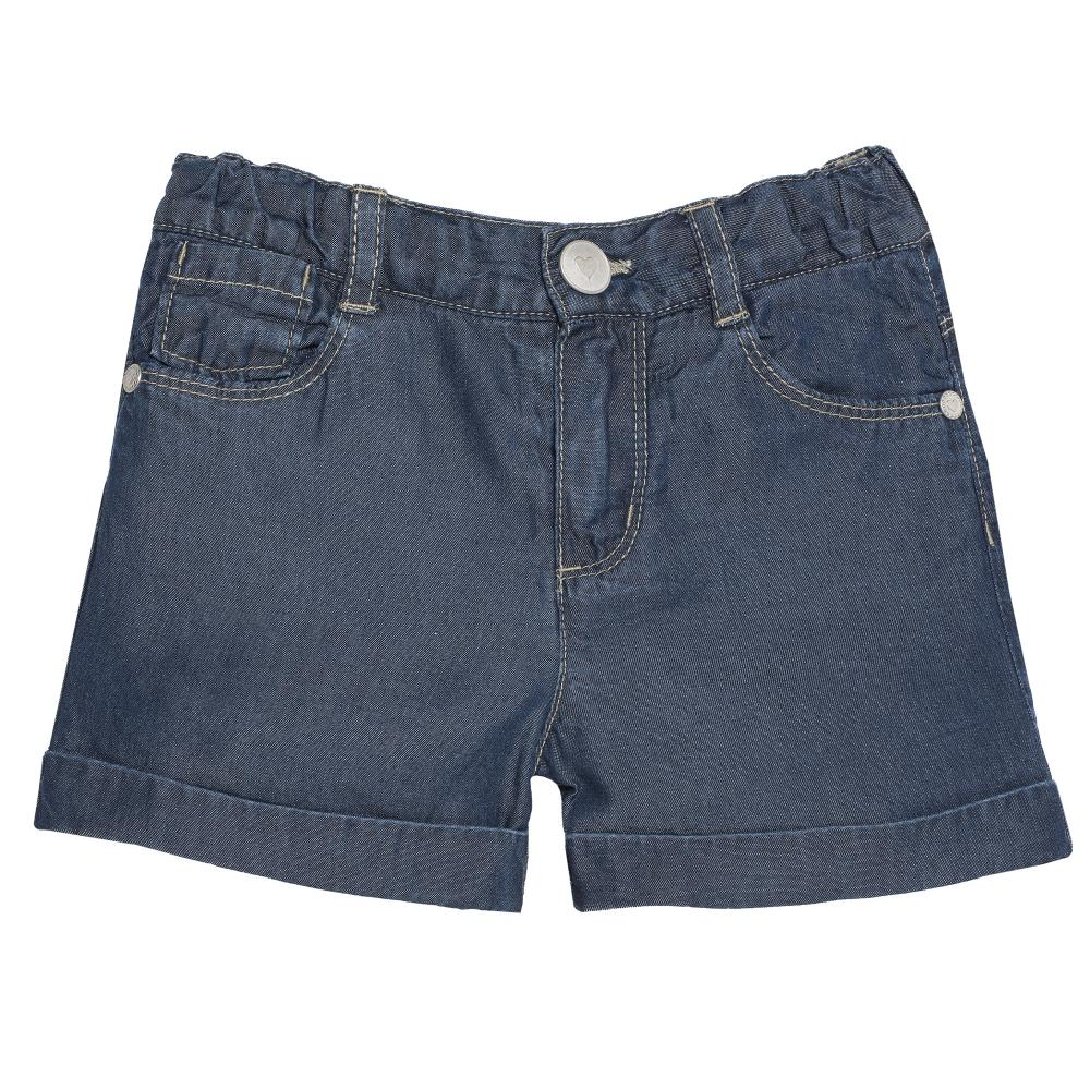Pantalon scurt copii Chicco, fetite, denim
