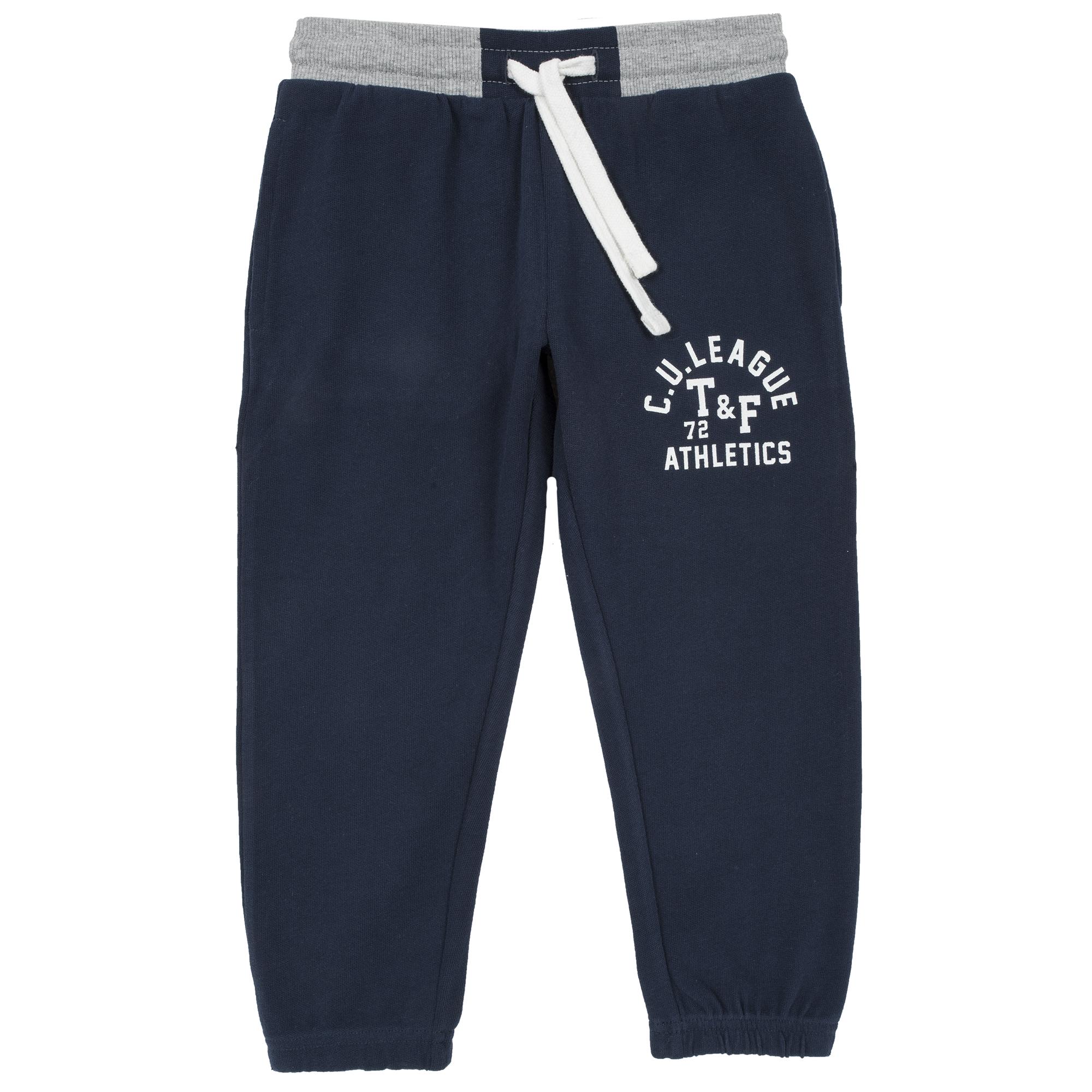 Pantalon trening copii Chicco, albastru inchis