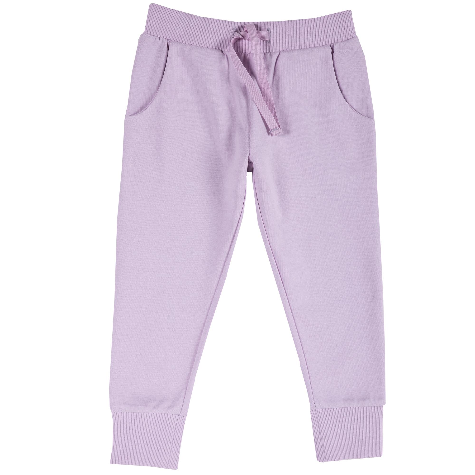 Pantalon trening copii Chicco, manseta elastica, lila, 24932 din categoria Pantaloni copii