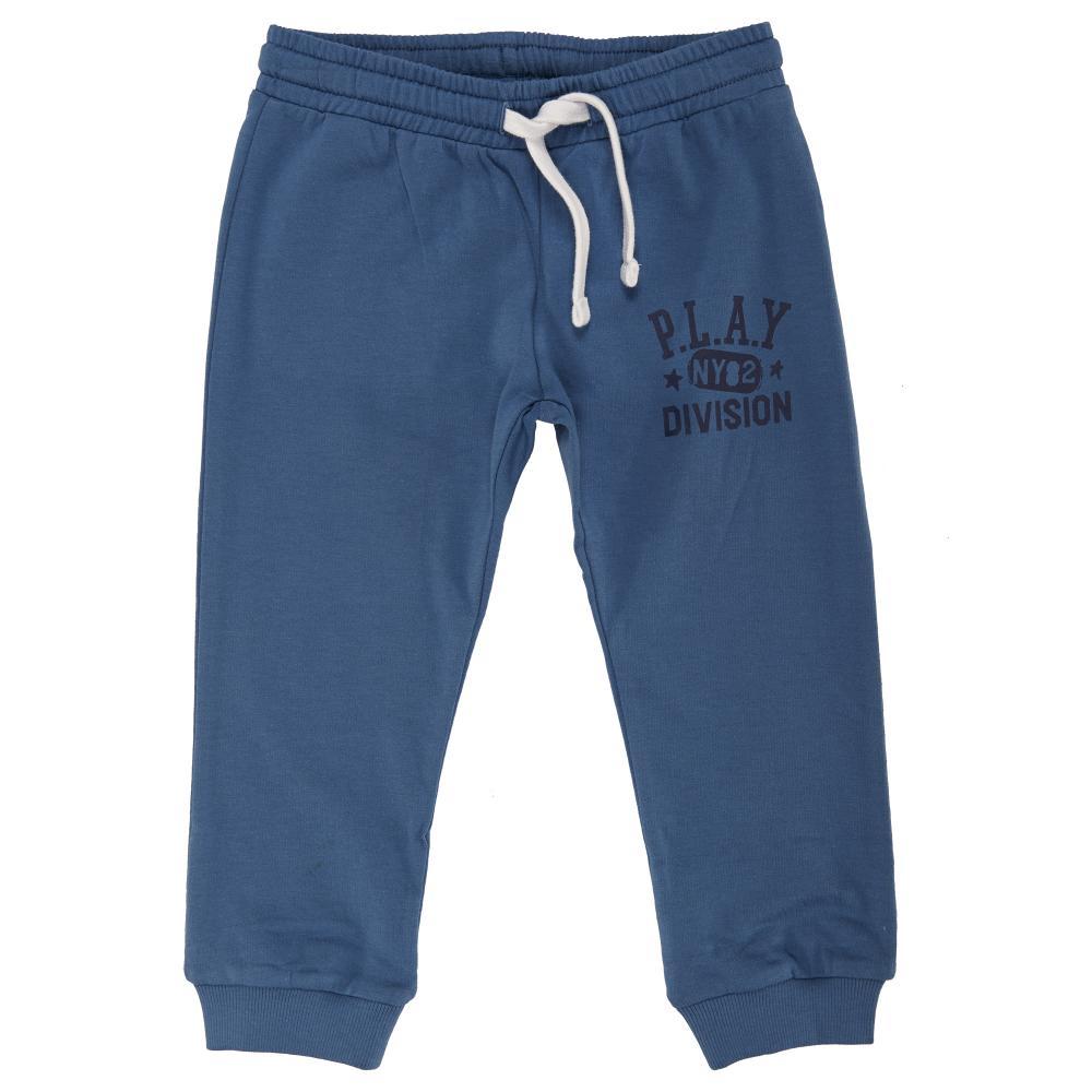 pantalon trening pentru copii chicco, albastru deschis