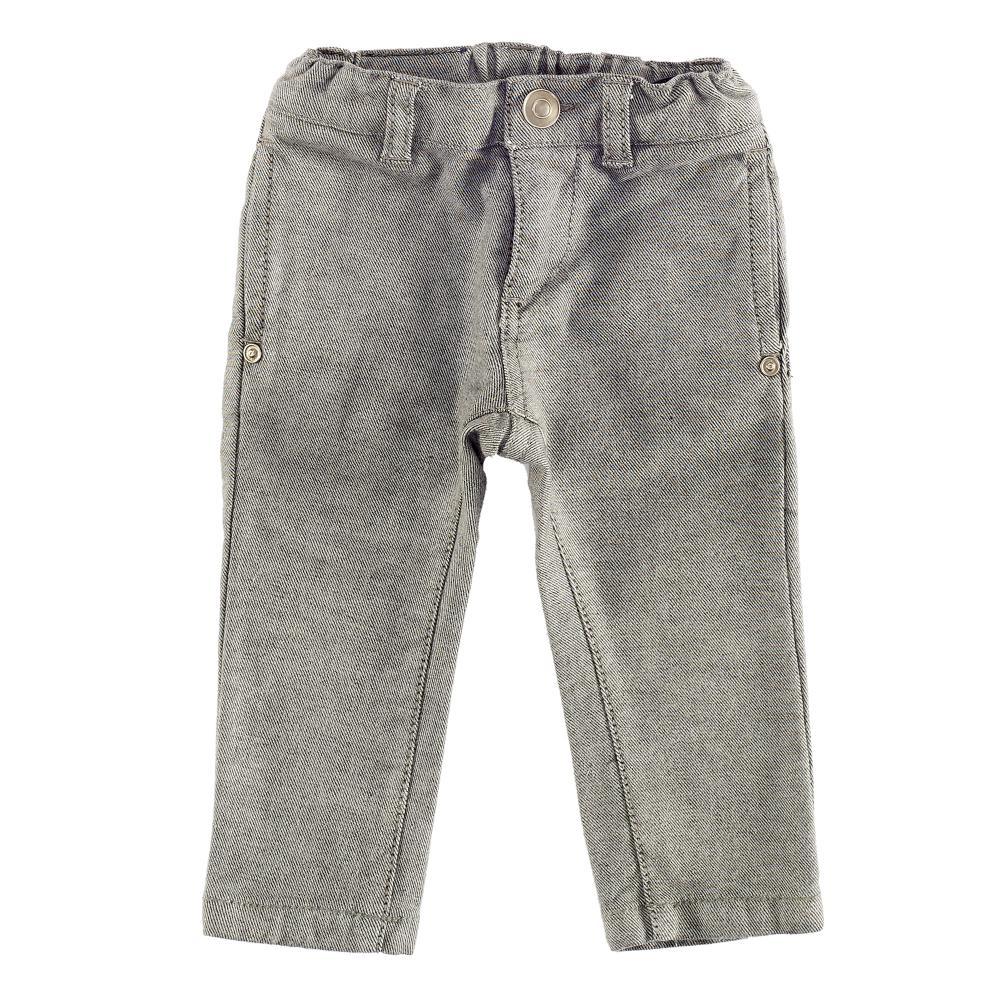 Pantaloni copii Chicco, gri inchis