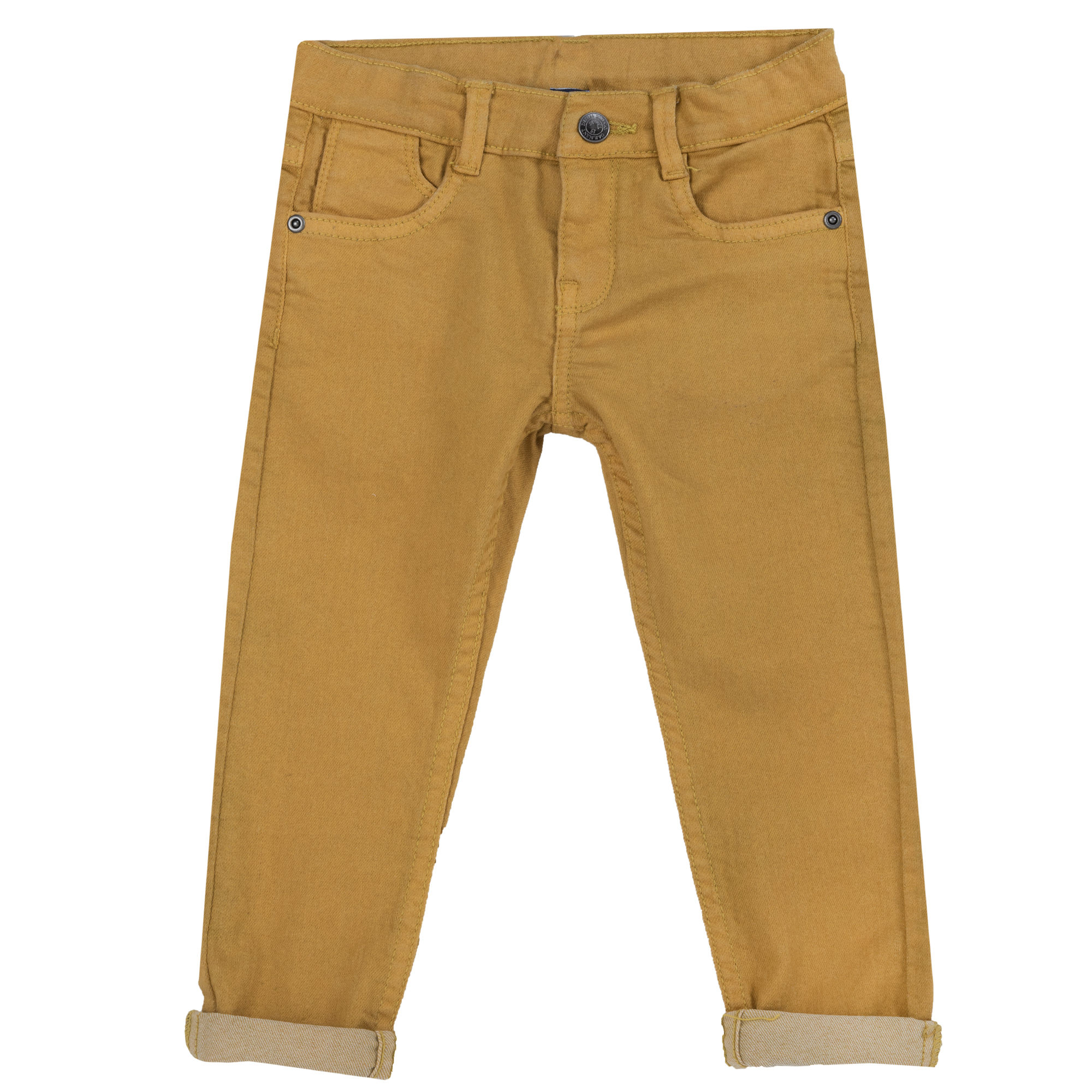 Pantalon Lung Copii Chicco, Galben, 08272 imagine