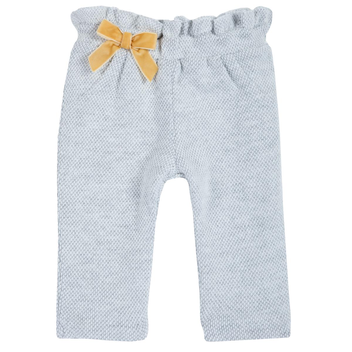 Pantaloni lungi copii Chicco, fundita galbena, 94768 din categoria Pantaloni copii