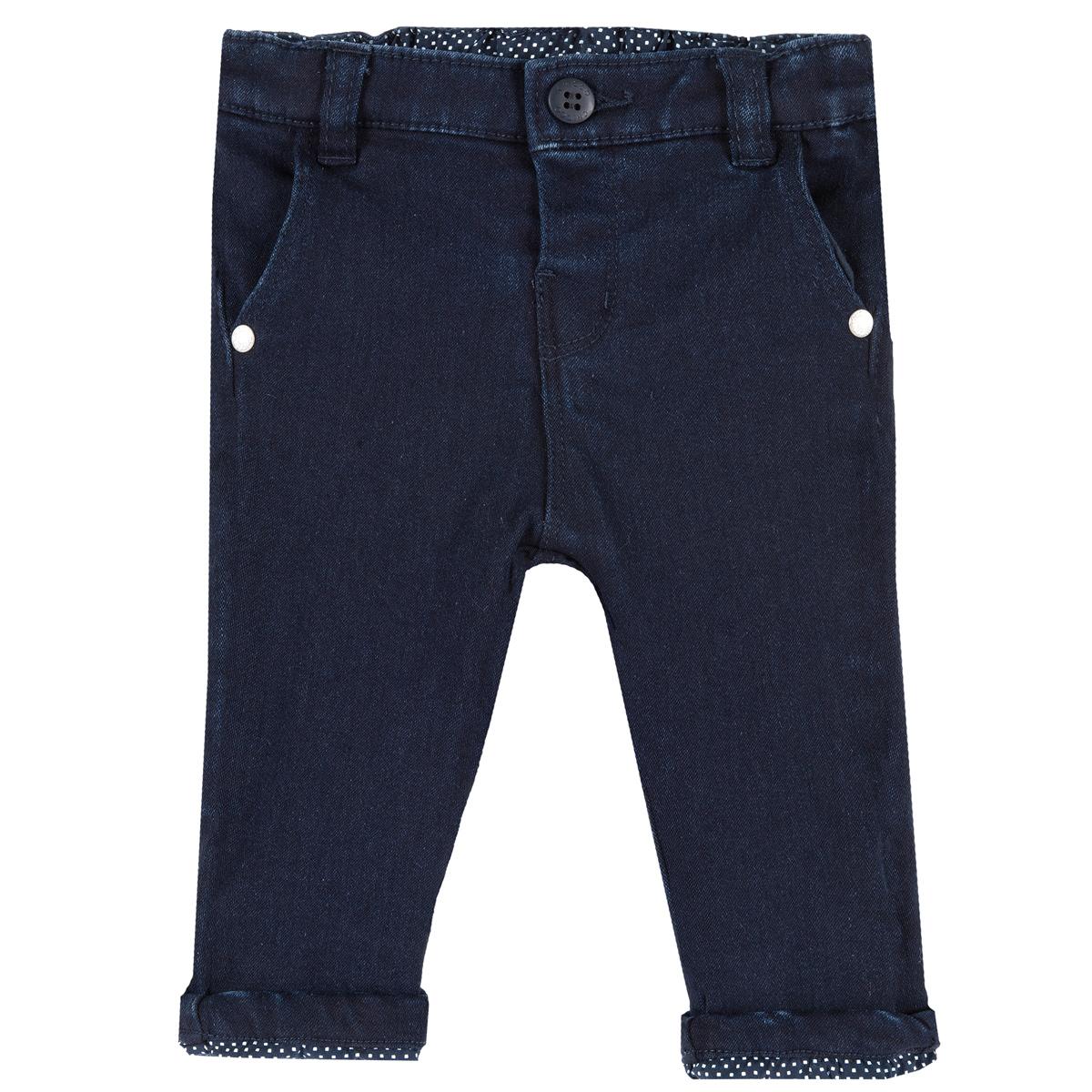 Pantalon lung copii Chicco twill elastic