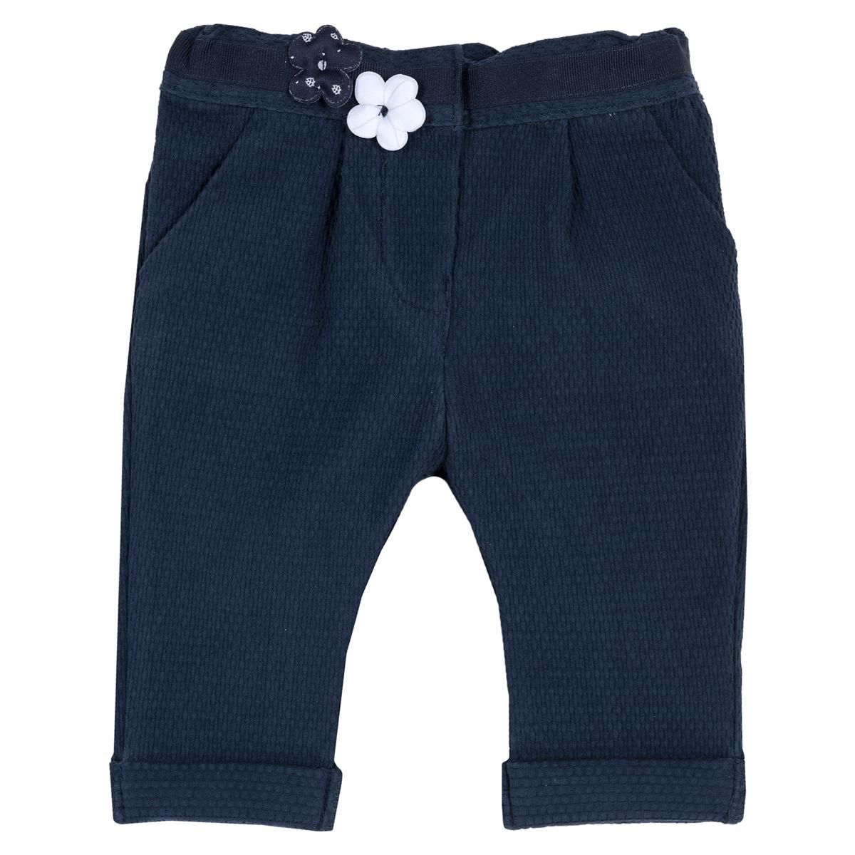 Pantalon lung copii Chicco, albastru inchis, 24918 din categoria Pantaloni copii