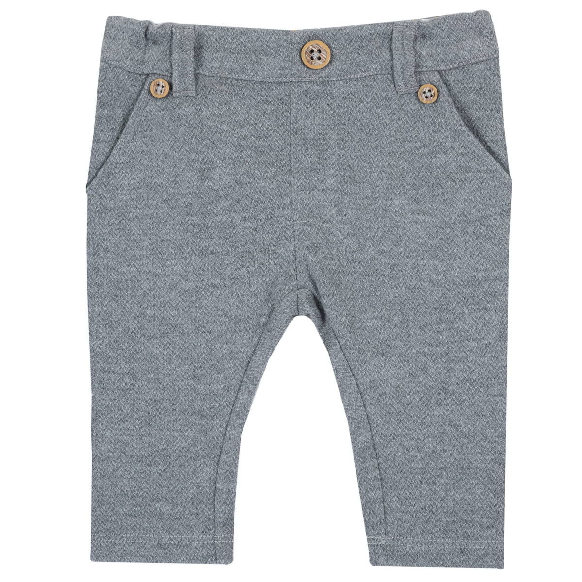 Pantaloni lungi copii Chicco, gri, 94684