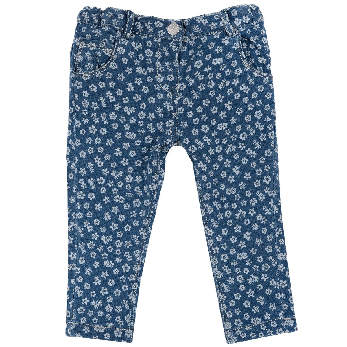 Pantalon Lung Copii, Bleumarin Cu Model, 24942
