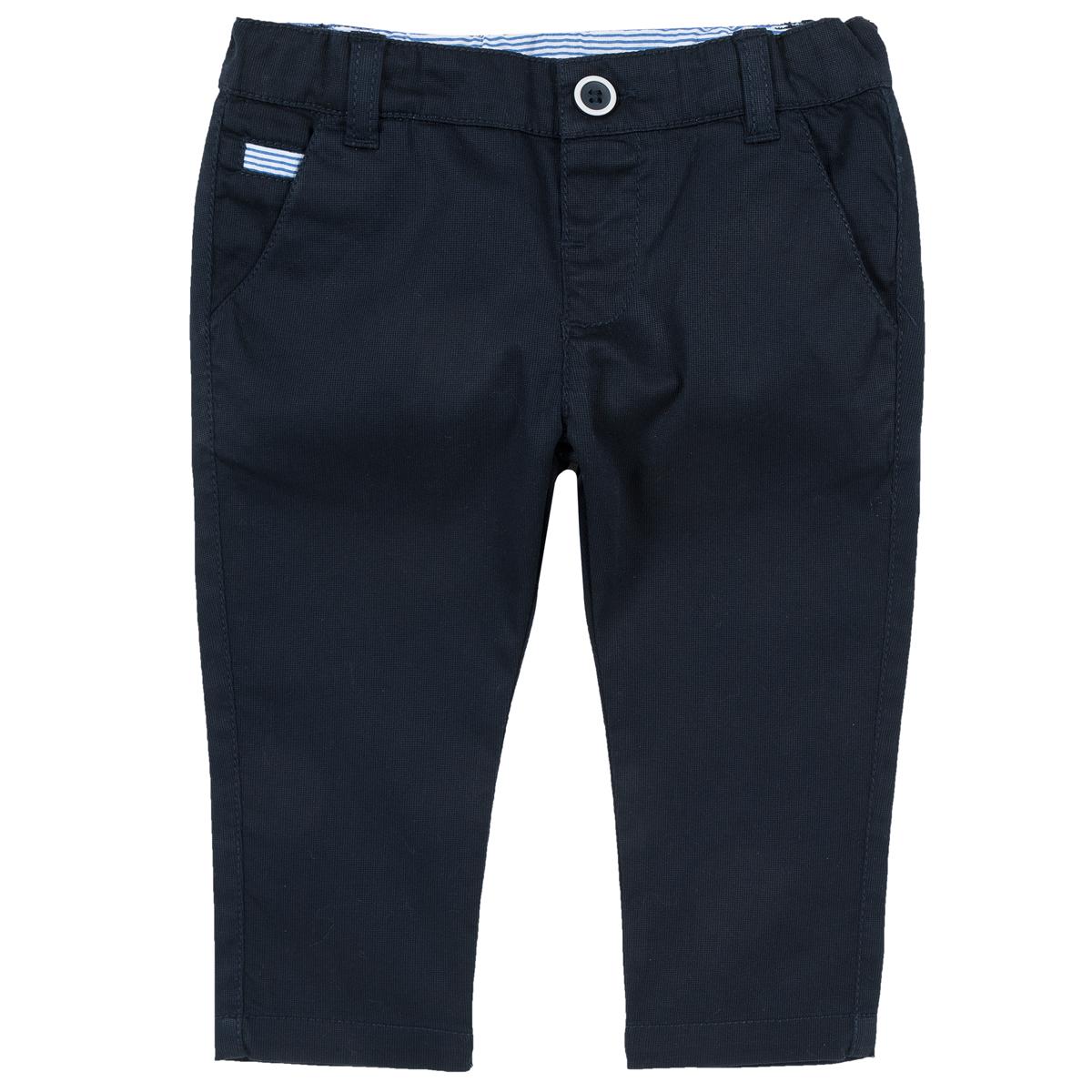 Chicco Pantaloni lungi copii Chicco albastru inchis 92