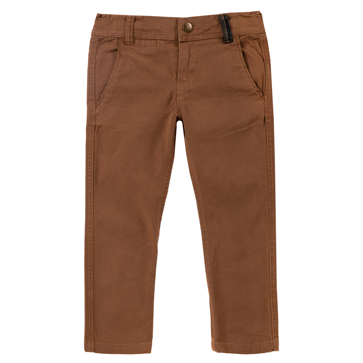 Pantaloni lungi copii Chicco, maro, 08024 din categoria Pantaloni copii