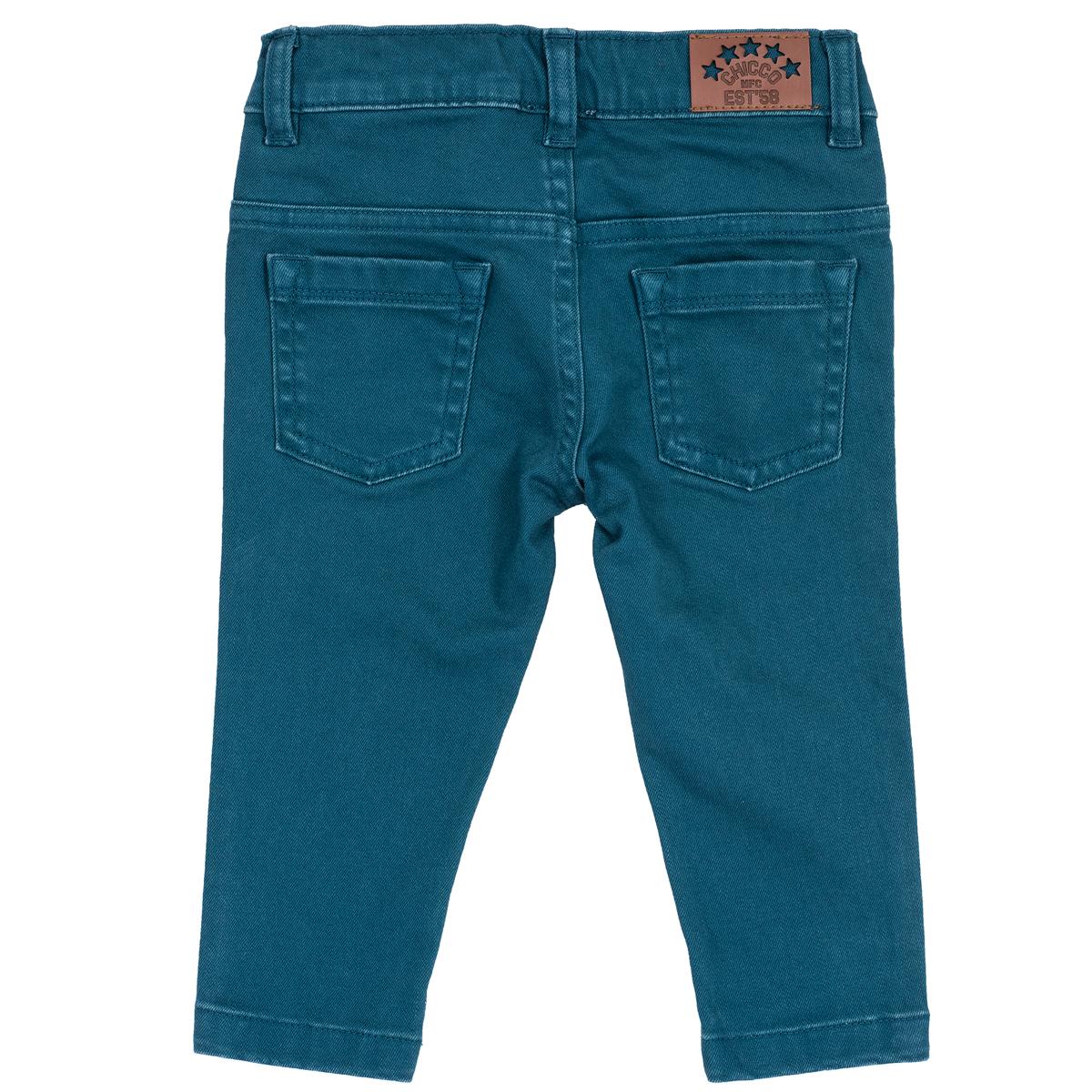 Pantalon copii Chicco, albastru deschis, 24783 din categoria Pantaloni copii