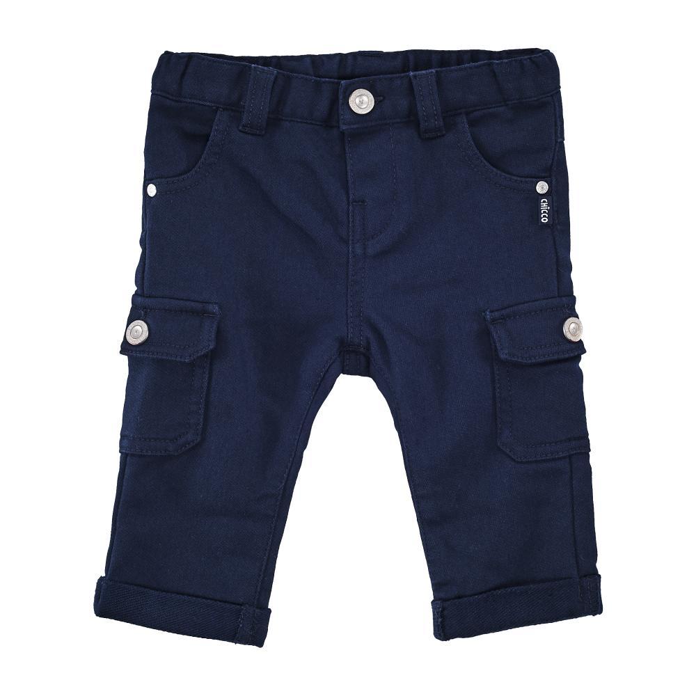 Chicco Pantaloni lungi copii Chicco albastru 56