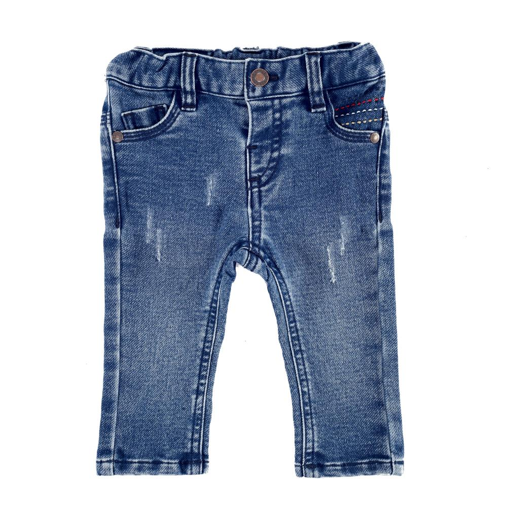Pantaloni lungi copii Chicco, albastru, 24586
