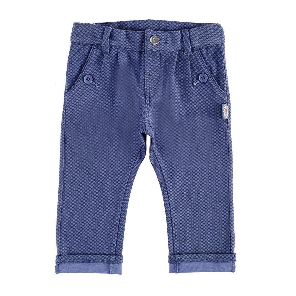 Pantaloni lungi copii Chicco, albastru, 24628