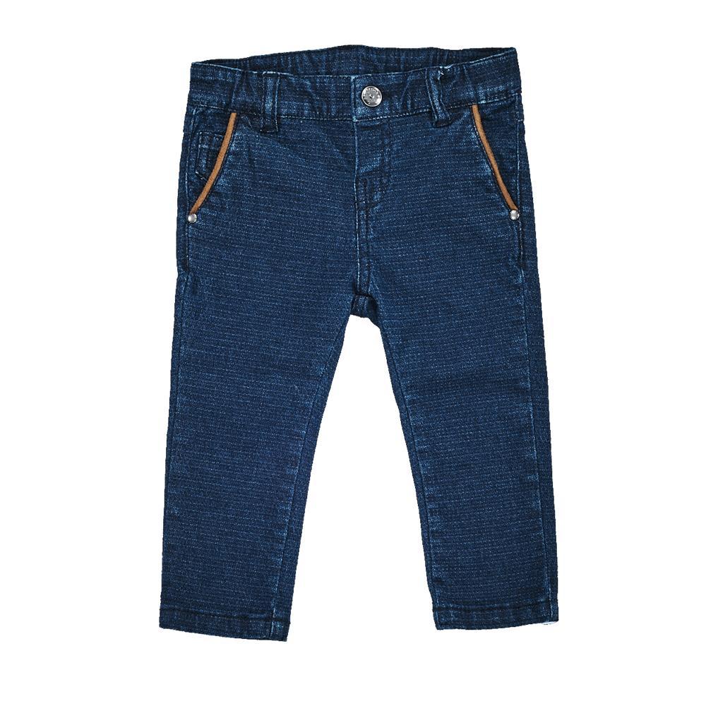 Pantaloni lungi copii Chicco, albastru, 24629