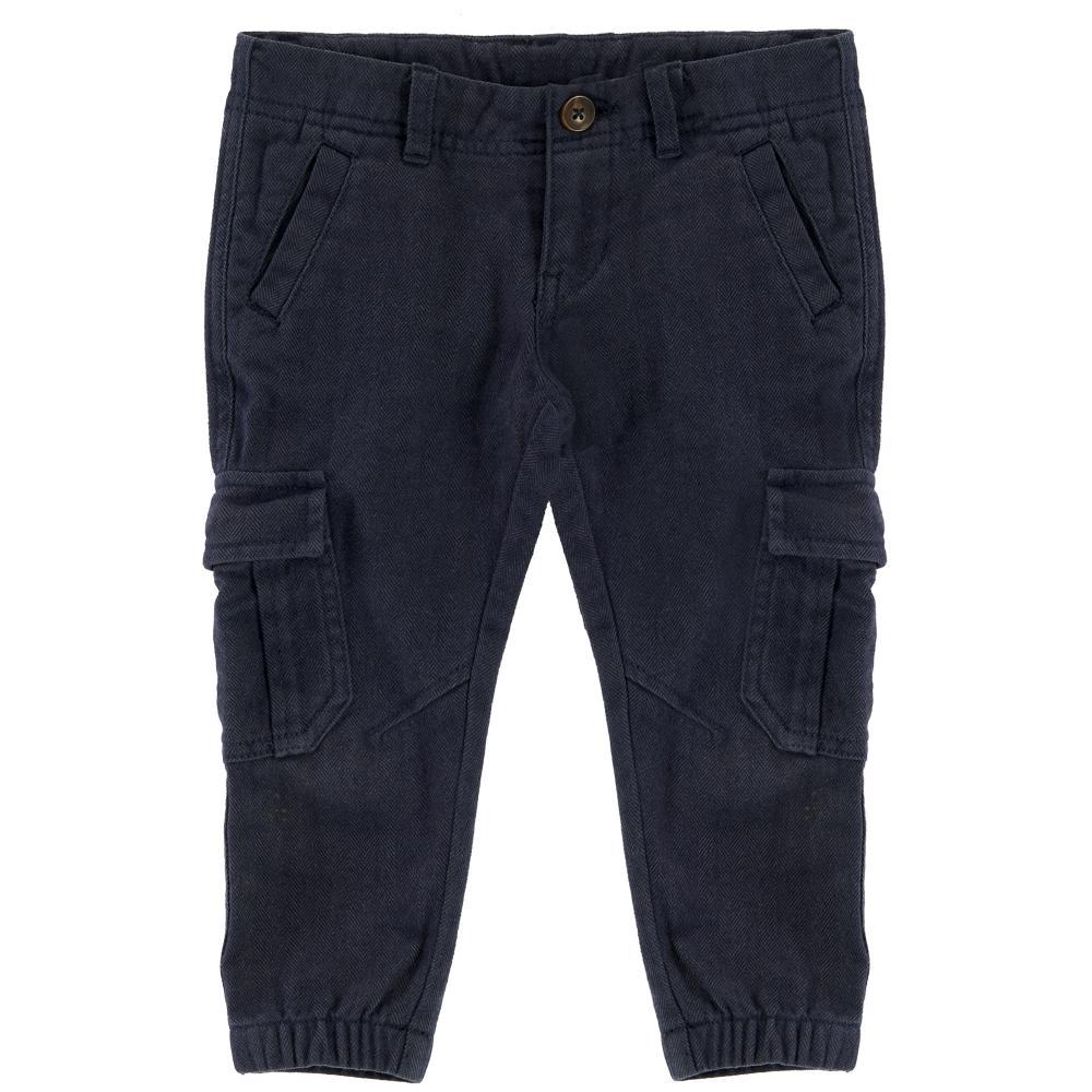 Pantaloni lungi copii, Chicco, albastru
