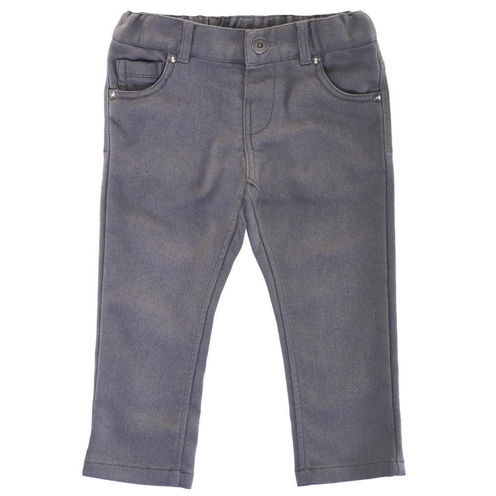 Chicco Pantaloni lungi copii Chicco gri inchis 122