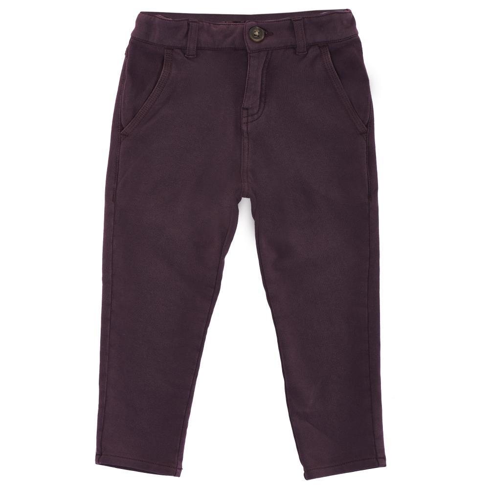 Pantaloni lungi copii, Chicco, visiniu