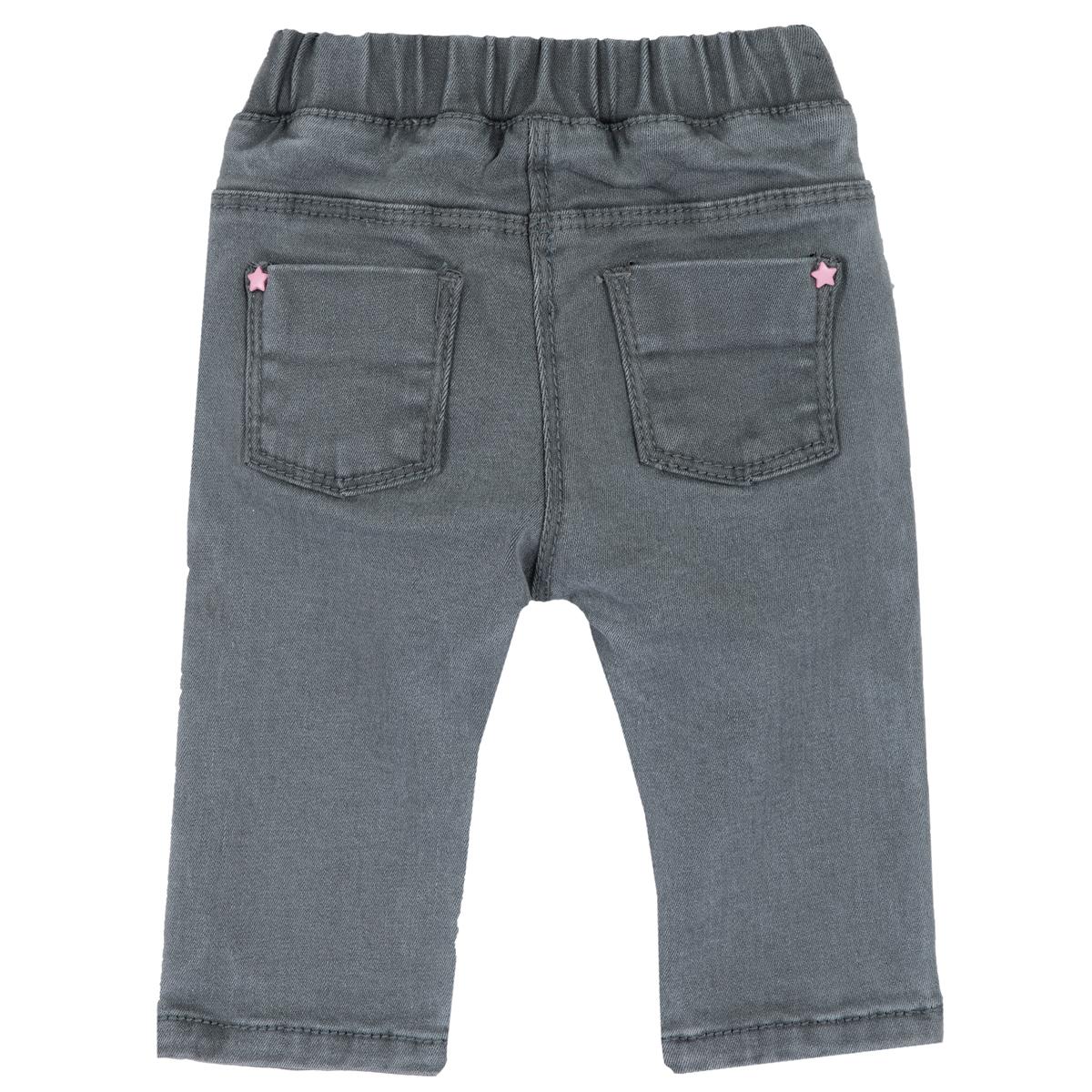 Pantaloni lungi copii Chicco, denim elastic, gri, 24997 din categoria Pantaloni copii