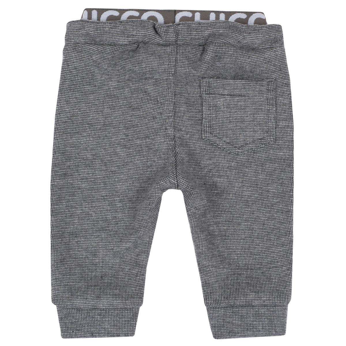 Pantaloni copii lungi Chicco, negru cu albastru, 08037