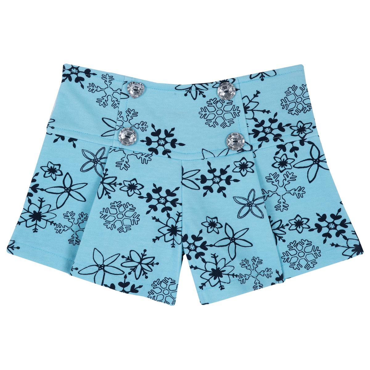 Pantaloni Scurti Copii Chicco, Imprimeu Fulgi De Zapada, 34501 imagine