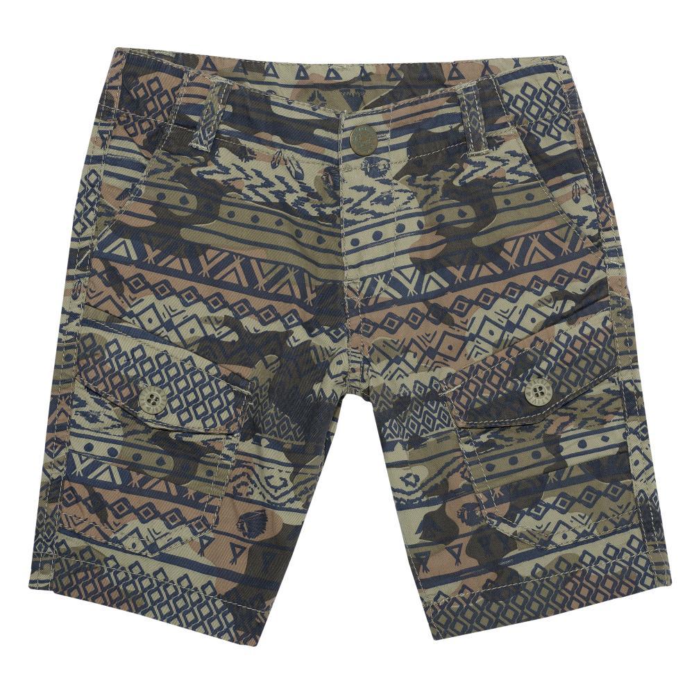 Pantaloni scurti Chicco, baieti, kaki si nuante de maro din categoria Pantaloni copii