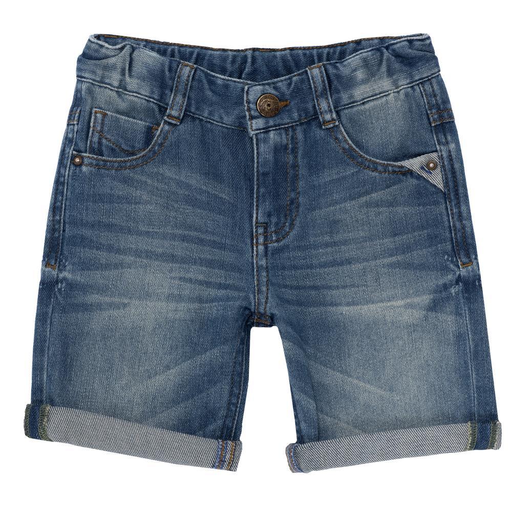 Pantaloni scurti copii, Chicco, albastru denim