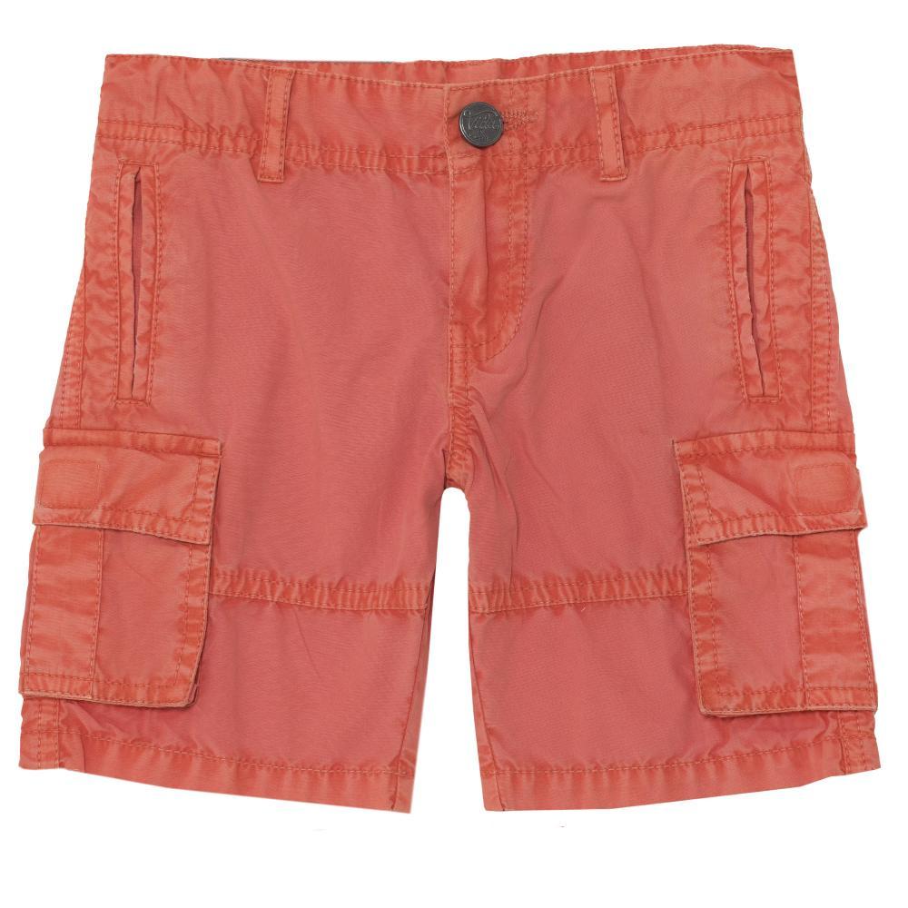 Pantaloni scurti copii Chicco, portocaliu