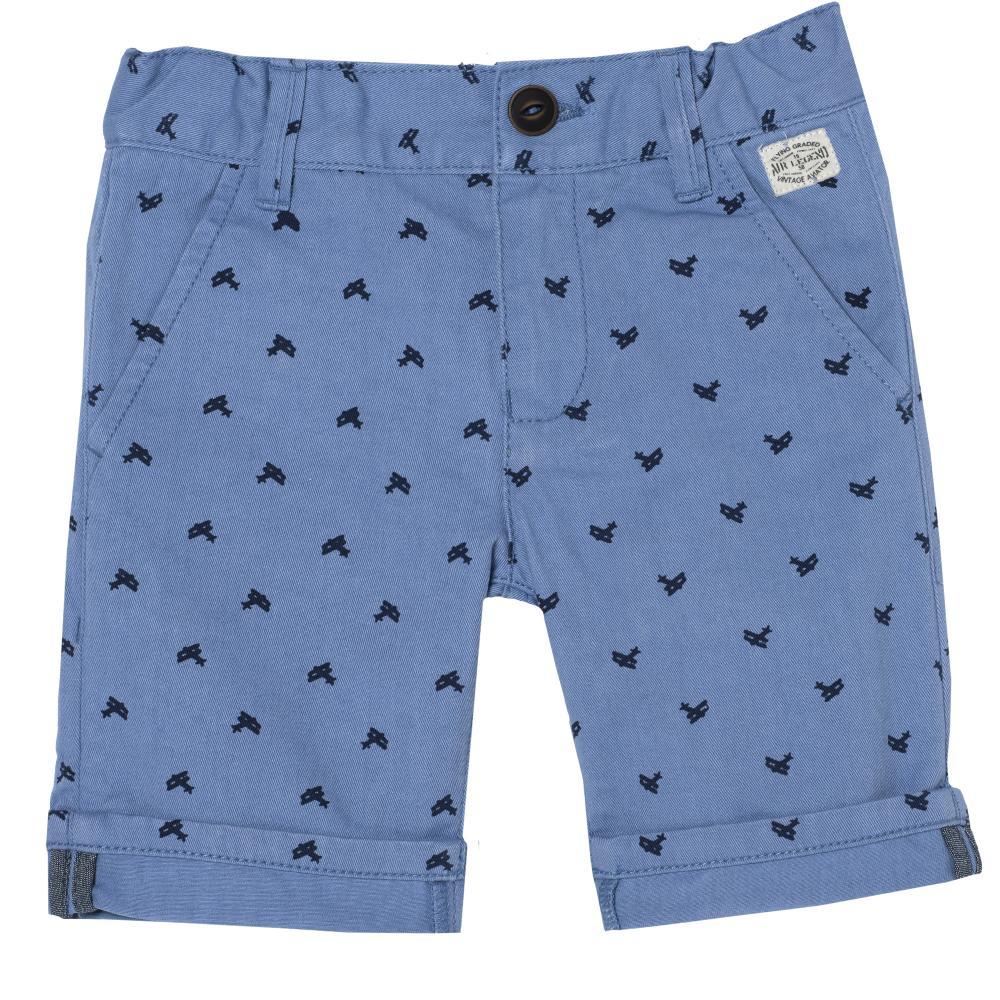 Pantaloni scurti copii Chicco, albastru deschis din categoria Pantaloni copii