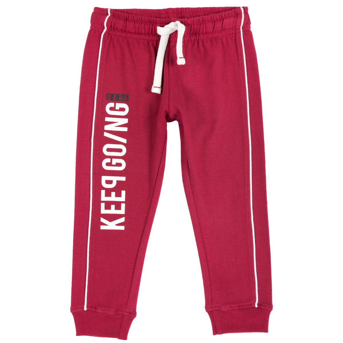 Pantalon trening copii Chicco, visiniu, 94342 din categoria Pantaloni copii