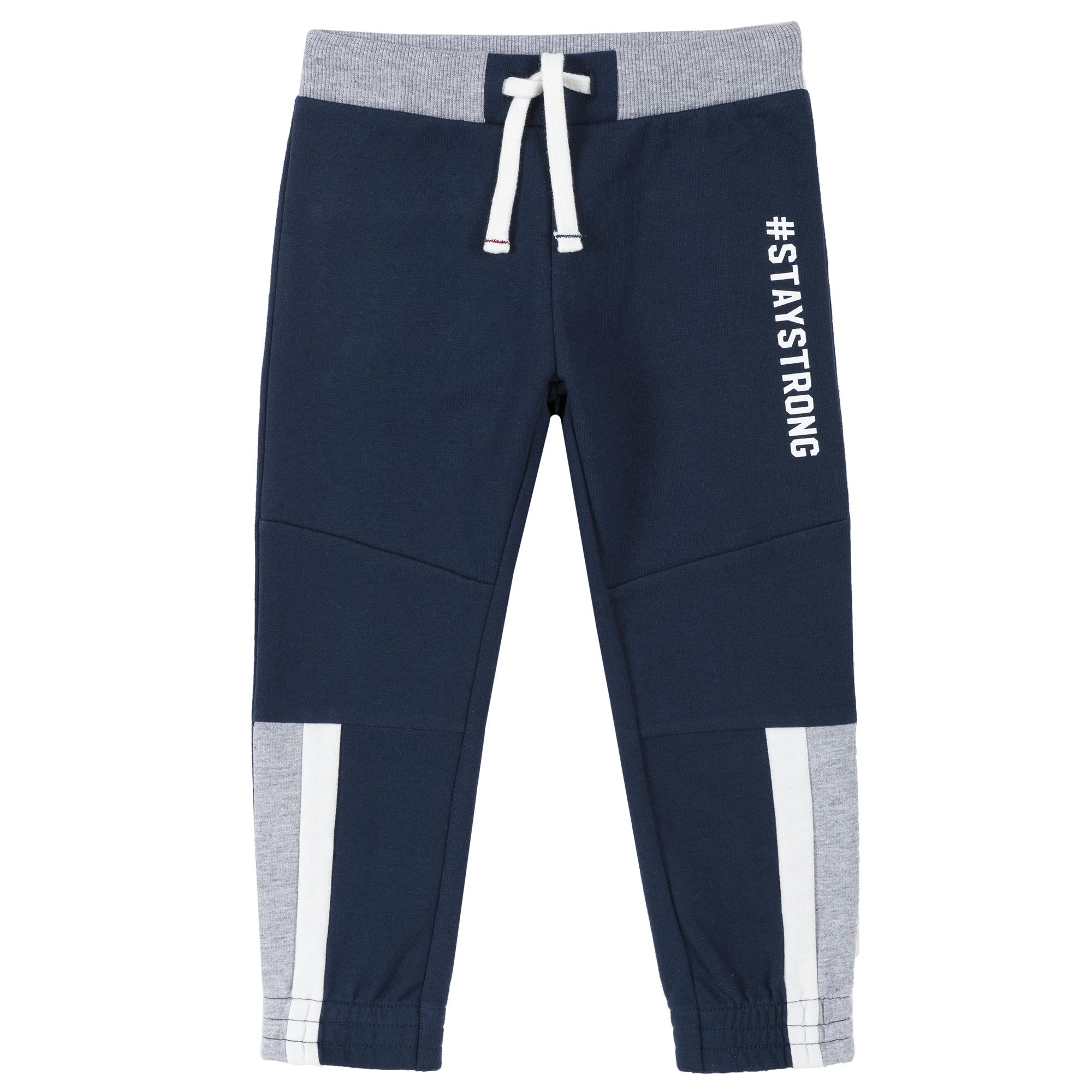 Pantalon trening copii Chicco, albastru inchis, 94611 din categoria Pantaloni copii