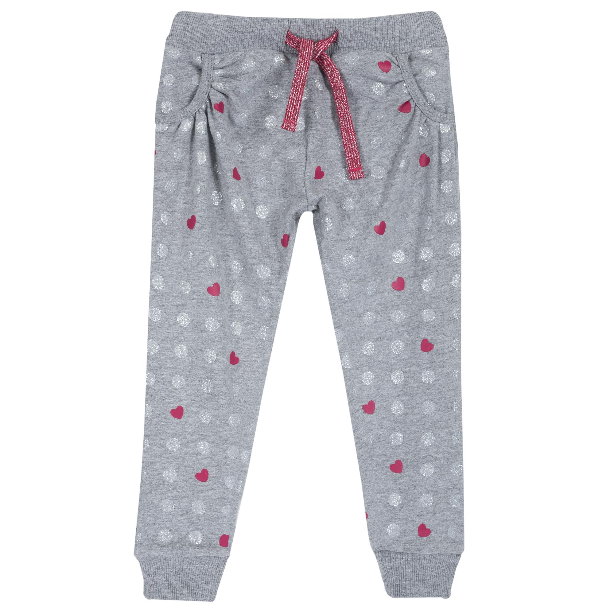 Pantaloni copii Chicco, gri cu rosu, 08019 din categoria Pantaloni copii