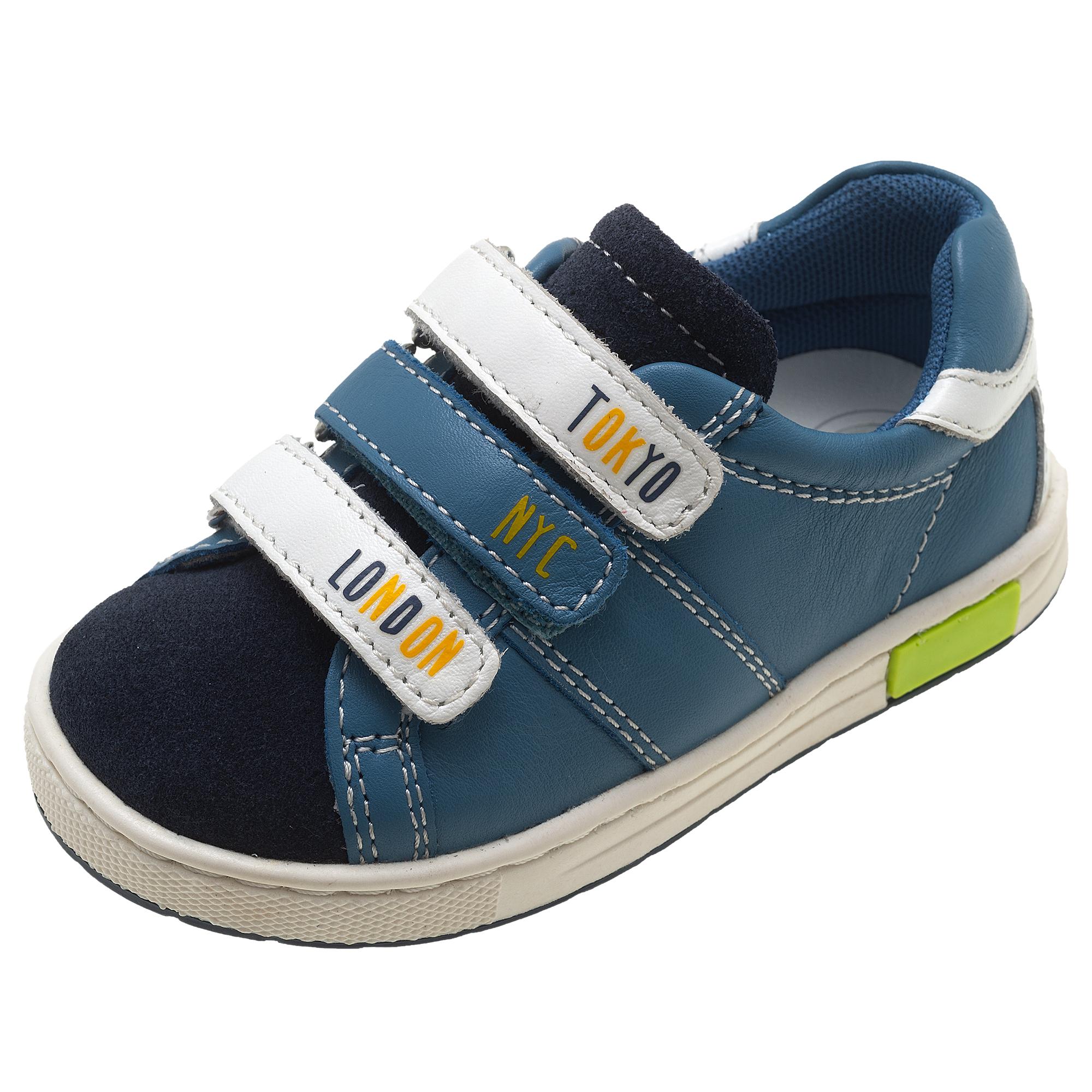 Pantofi sport copii Chicco Crono, bleumarin cu model, 61599 din categoria Pantofi sport copii