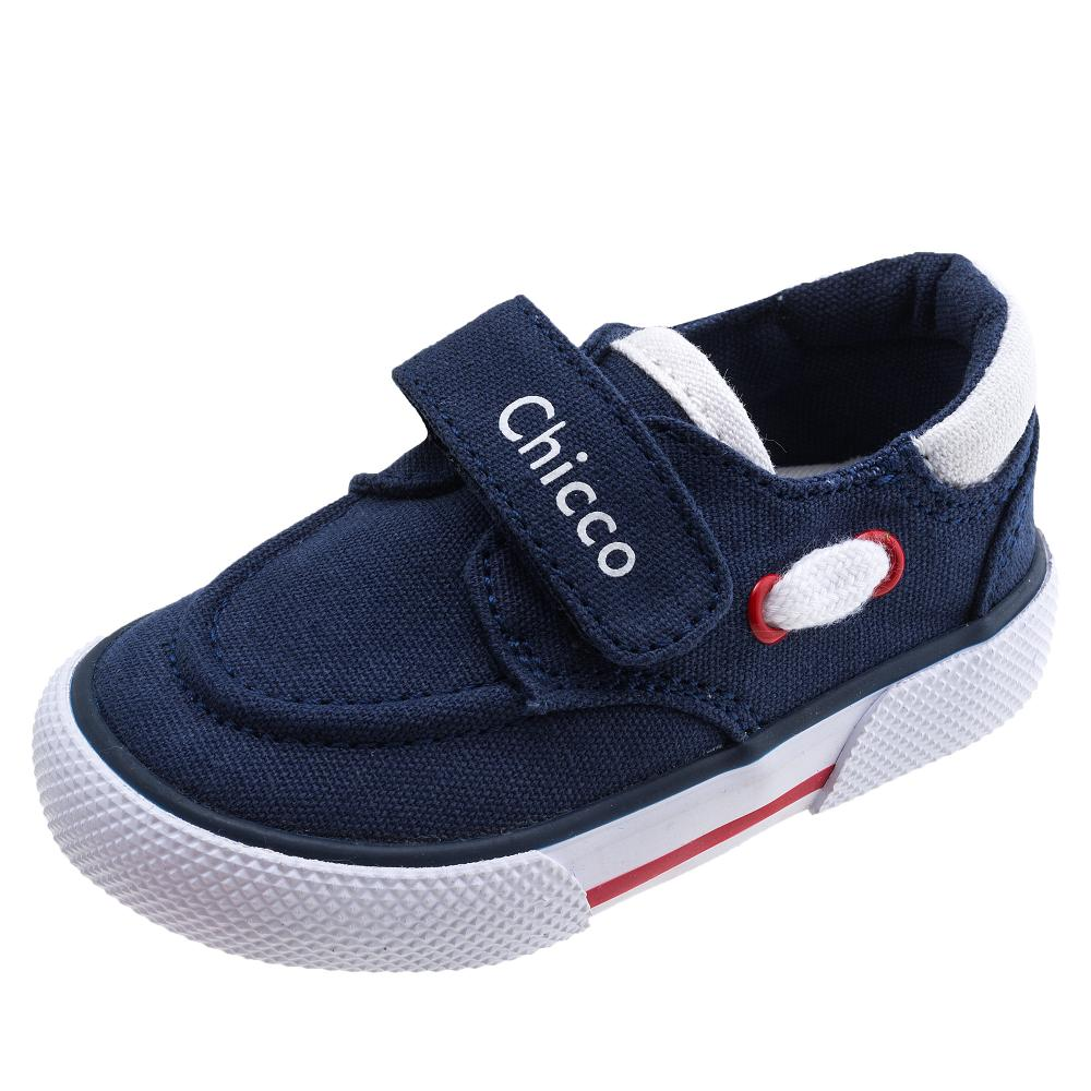 Pantofi sport copii Chicco, 100% material textil, bleumarin