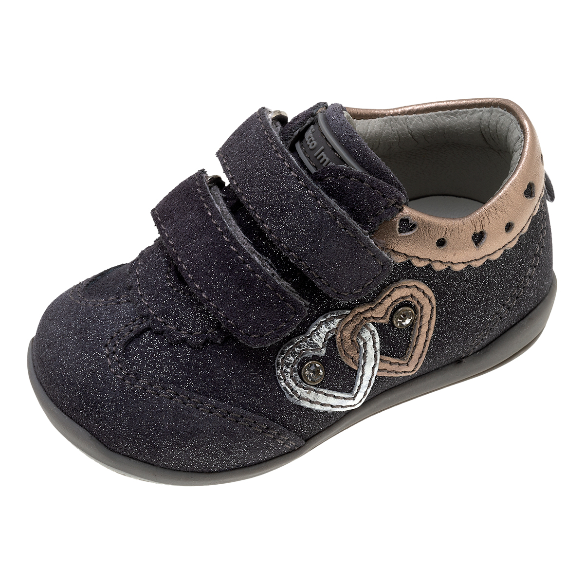 Pantofi copii Chicco Gualda, argintiu, 62533 din categoria Ghete copii si bebelusi