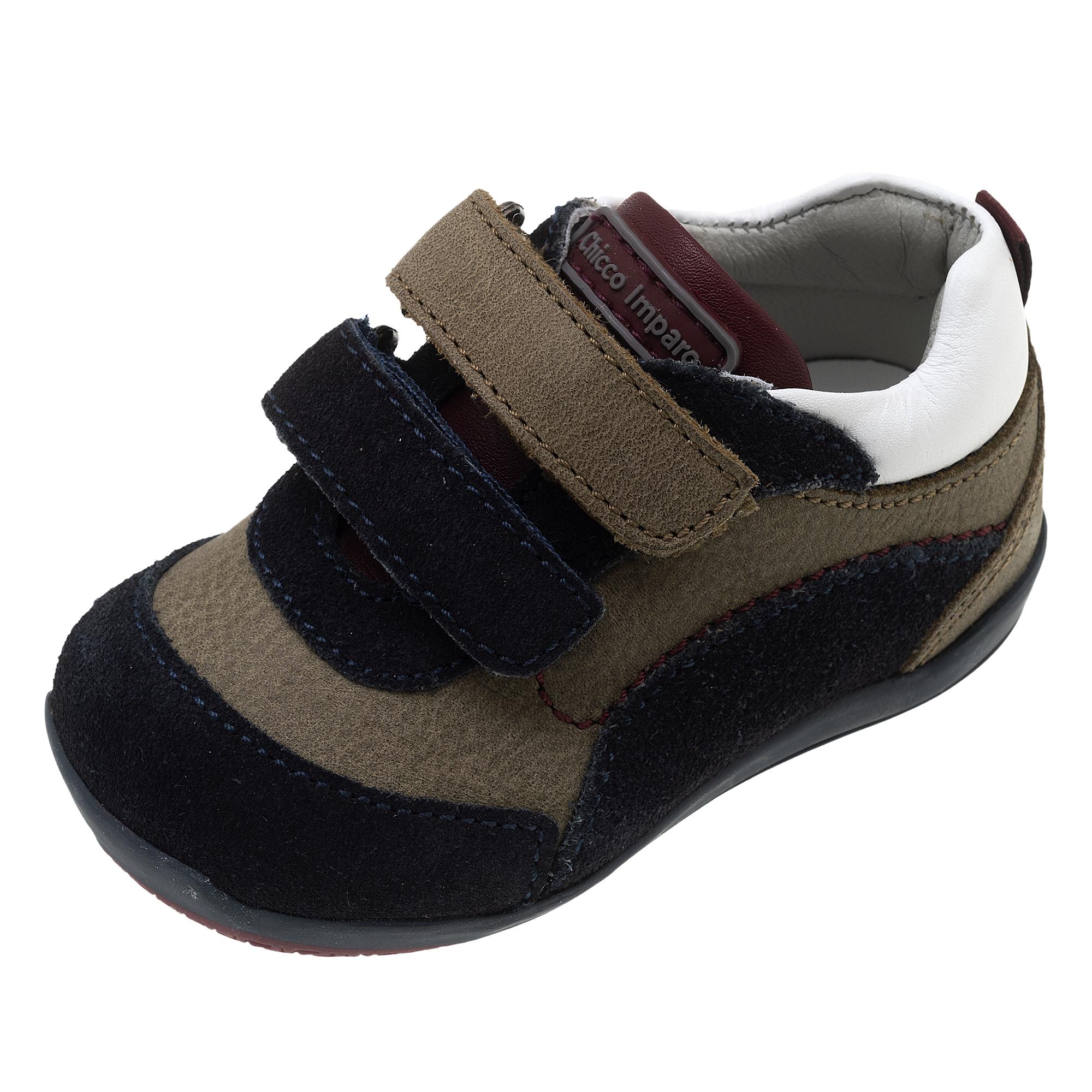 Pantofi sport copii Chicco Giotty, piele naturala, bleumarin, 62481