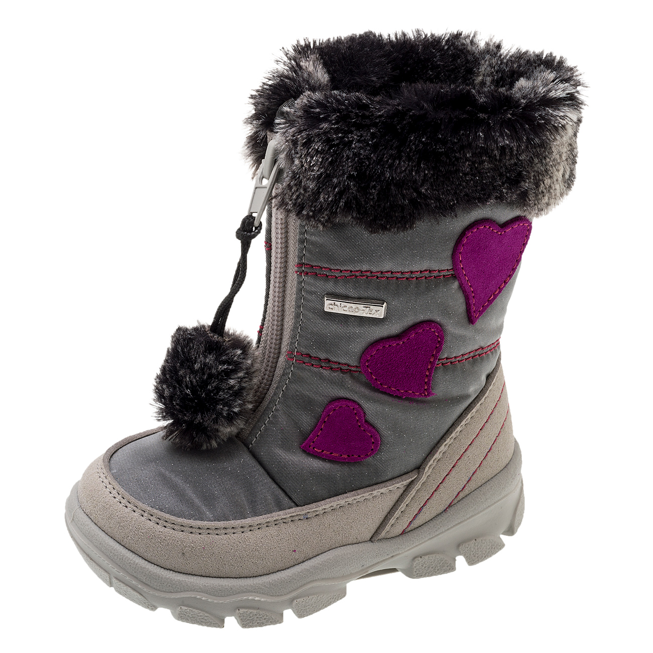 Pantof copii Chicco, gri