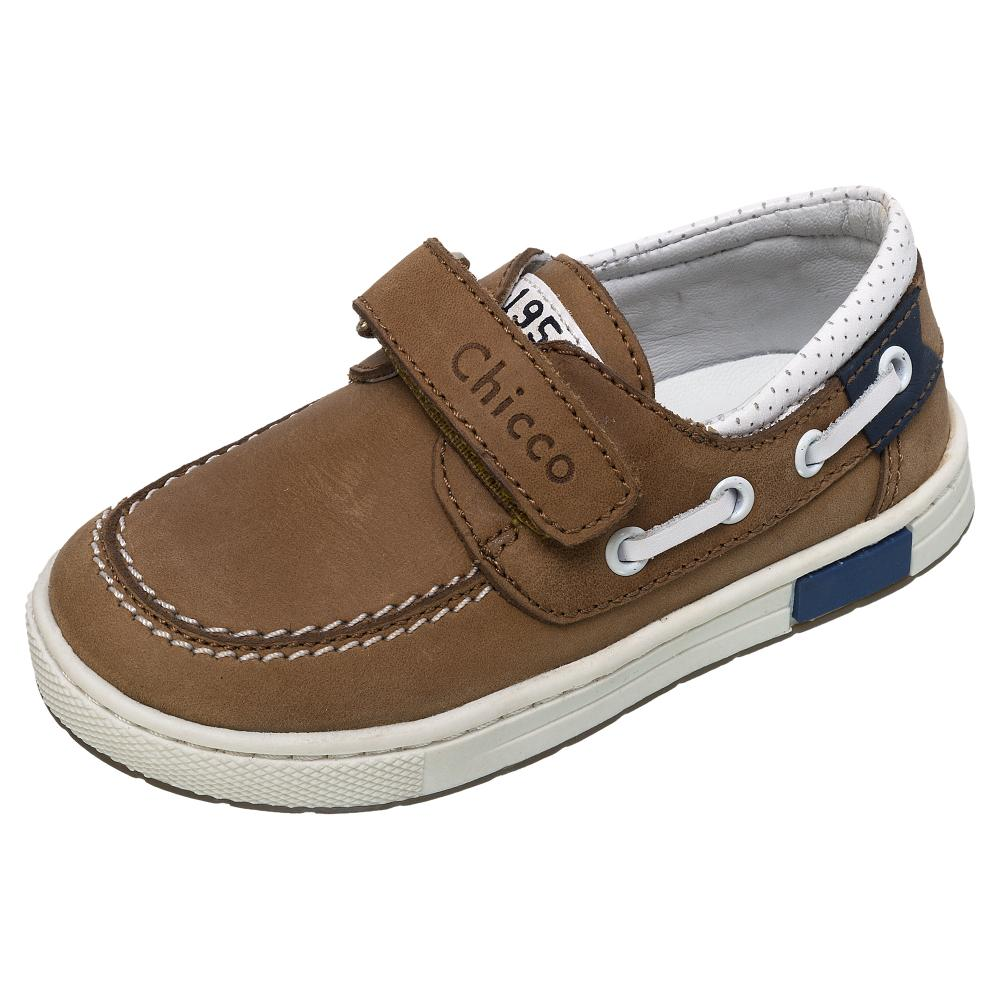 pantofi copii chicco, maro