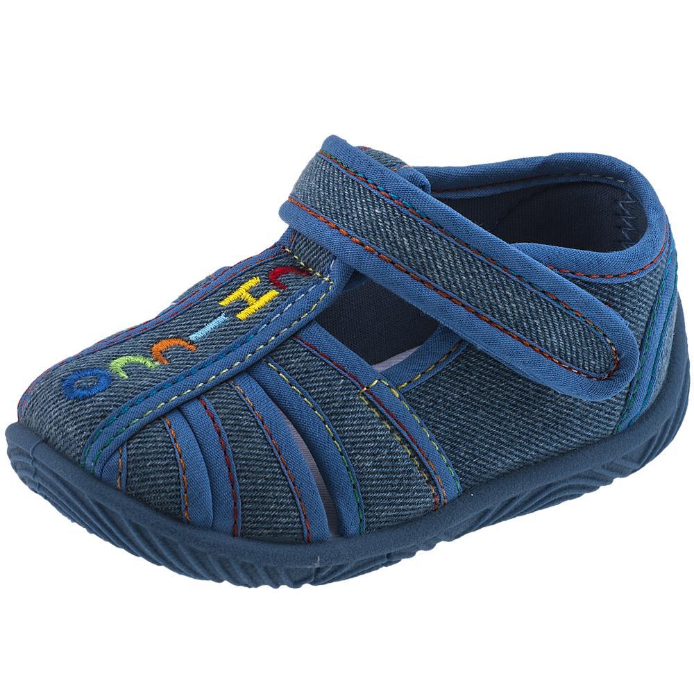 Pantofi de casa Chicco Tullio, albastru denim, 57428 din categoria Pantofi de casa