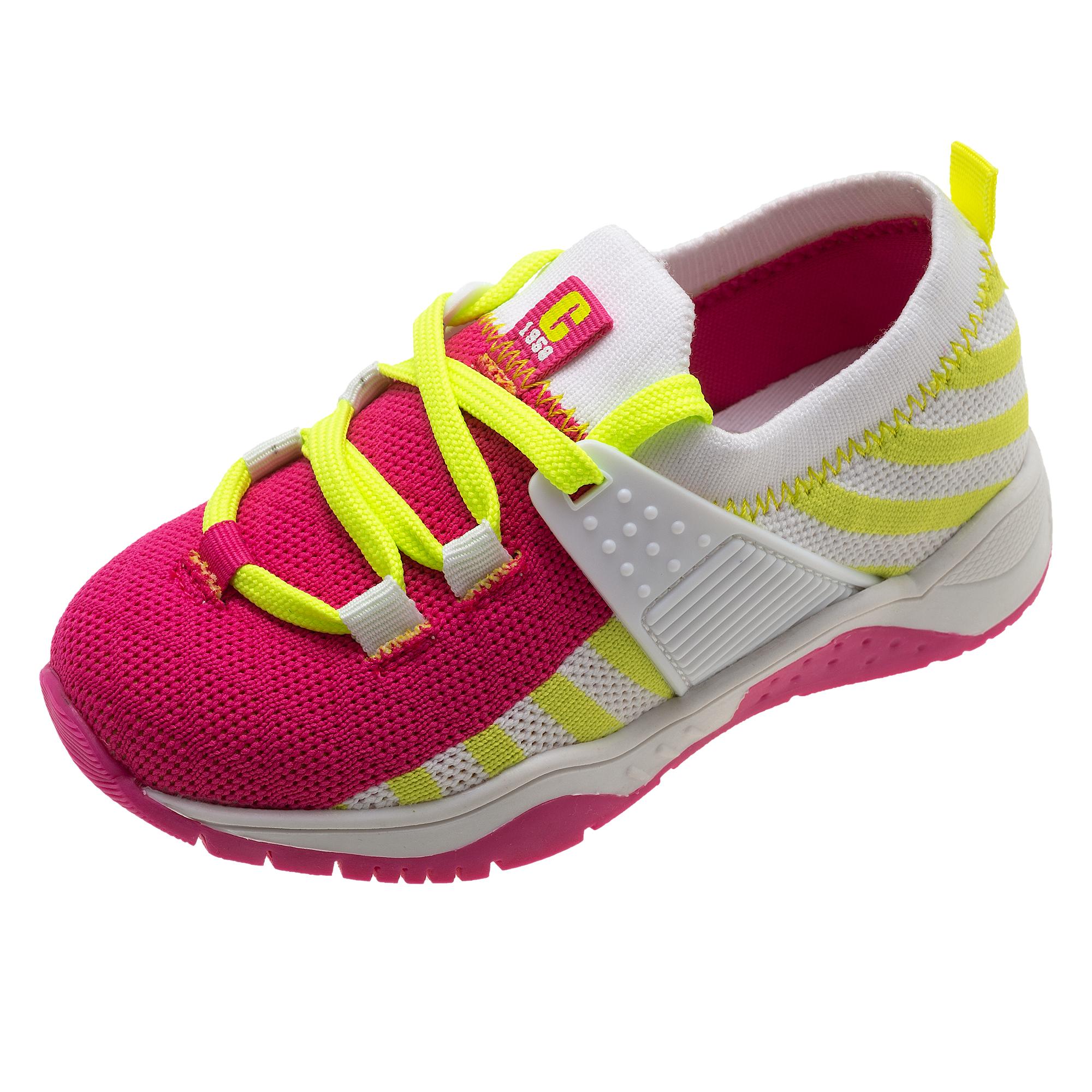Pantofi sport copii Chicco Corner, textil roz, 61617