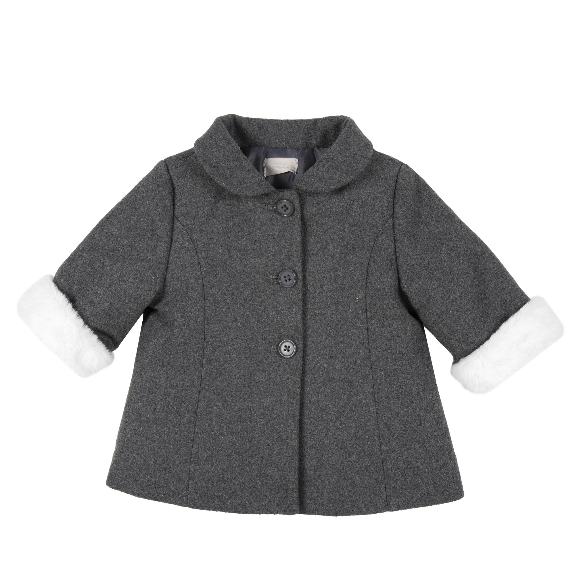 Palton Copii Chicco Furfree, Gri, 82302 imagine